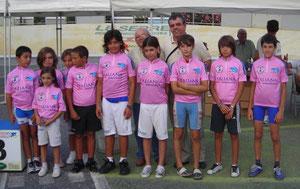 I vincitori del Giro Giovanissimi Strada