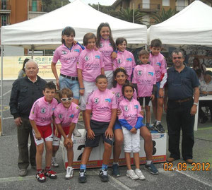 TUTTE LE MAGLIE ROSA DEL GIRO GIOVANISSIMI STRADA 2012