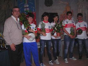 CAMPIONI PROVINCIALI ESORDIENTI E DONNE ALLIEVE STRADA - BORGIO VEREZZI 20.5.2012