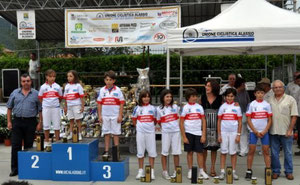 I CAMPIONI PROVINCIALI GIOVANISSIMI STRADA DEL 8 AGOSTO 2010 A ORTOVERO