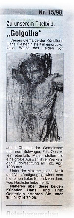 Ihr Einkauf Bildbeschreibung Jesusbild von Hansi Oesterlein