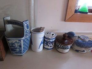 中国風の食器が好きなようです。