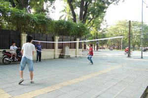バドミントンはベトナムで人気。