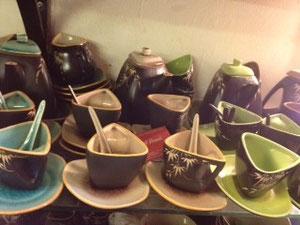 ベトナム陶器はオシャレ。