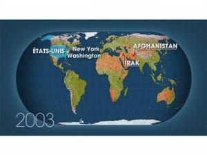 Dessous des Cartes, Le Moyen Orient américain ? (20/09/2008)