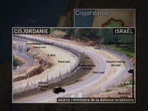 Dessous des cartes, Israël-Palestine (10/03/2004, DR).