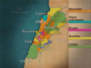 Dessous des Cartes, Liban 2/2 (30/11/2005)