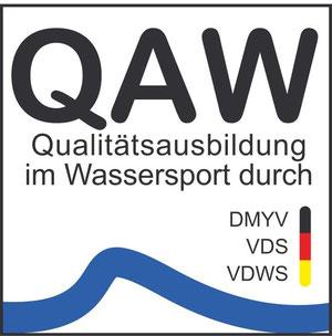 QAW Qualitätsprüfung waveBandits Tarifa. Sichere Kiteschule, Rescue Boot, Qualität in der Kite Schule, Qualitätsausbildung Wassersport