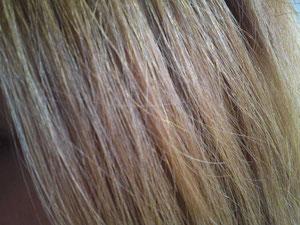 髪の表面(アフター)