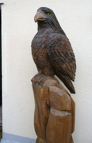 Adler aus Linde 170cm