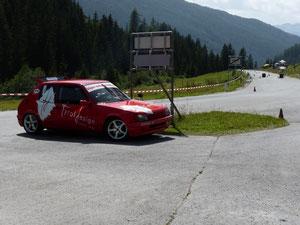 Tagessieger Robert Mayr mit seinem Peugeot 205