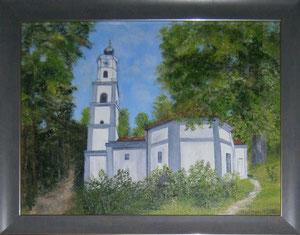 Schloßkirche in Thalhausen in Öl