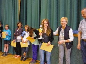 Schulsiegerin: Pia Gahrens