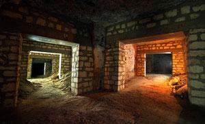 Souterrain des caves du Roy en Ile de France