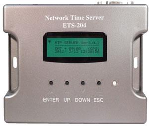 Compact GPS/GLONASS TimeServer ETS-204(G3)