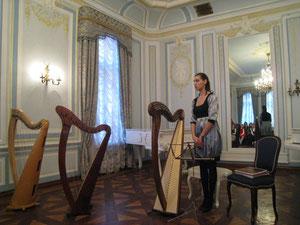 Педагог Валентина Пронина делится своими мыслями по поводу леверсных арф