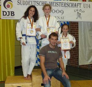 Vanessa Grigo, Jessica Kirschniok, Mona Frühauf