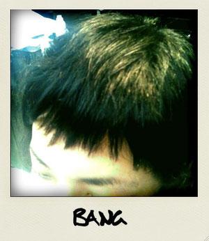 ショート前髪