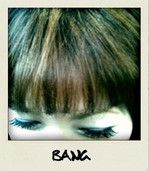 前髪ハイライト
