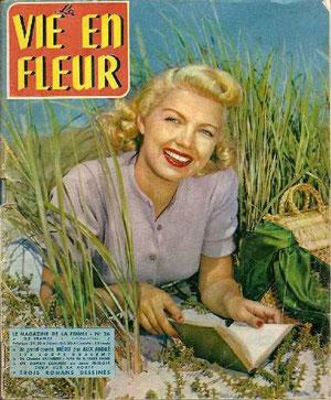 Magazine La vie en fleur n°26, 1953.
