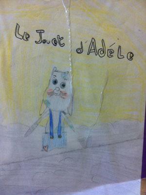 Le jouet d'adèle, Dorothée Piatek, Magali Fournier