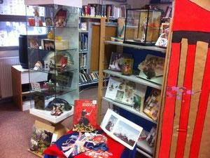 exposition d'objets japonais