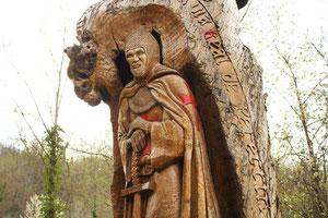 Le Templier de Priaranza del Bierzo (León).