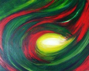 Magie Acryl auf Leinwand 100x80cm