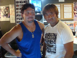 (特別ゲスト)TAJIRI選手、FUNAKI選手