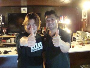男色ディーノ選手、MIYAWAKI選手(特別ゲスト)