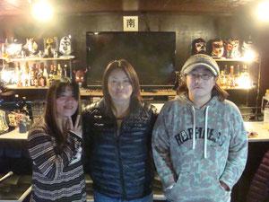 植松寿絵選手、浜田文子選手、GAMI選手