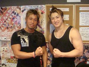 B×Bハルク選手、横須賀享選手