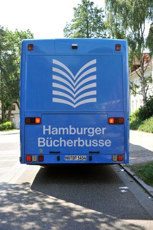 Bücherbus Heck