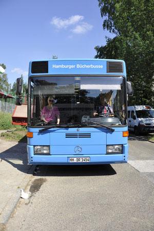 Bücherbus Front
