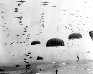US Falschirmjäger im 2. Weltkrieg