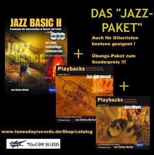 Jazz Lern-Paket zum Sonderpreis !