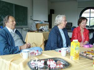 12.7.2008 Rolf und Margret Rettich zu Gast bei einer Verabschiedung