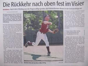 Rheinpfalz 13.04.2013