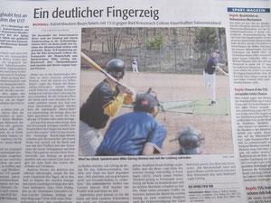 Rheinpfalz 16.04.2013