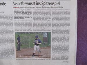 Rheinpfalz 19.04.2013