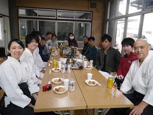 平成29年 1月3日 多治速比売神社‐神館(道場)での新年会