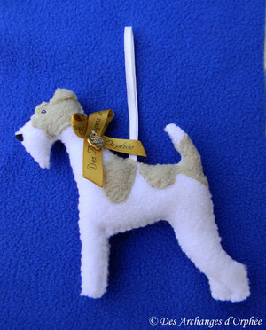 "Fox terrier ""Sugar""."