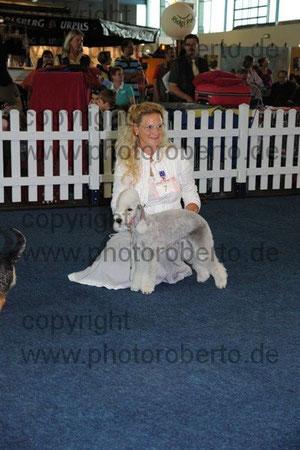Olga - Ring d'Honneur à la CACIB de Saarbrücken 2011.