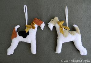 Fox terrier 11x 11cm