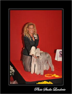 Olga & Tsarine -  3ème meilleure paire de l'exposition.