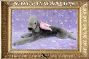 ♥ Olga ♥ 3 ans