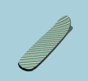 planche de surf sol