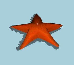 bougie étoile (clutter)