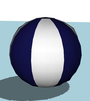 ballon de plage (les sims peuvent jouer avec)