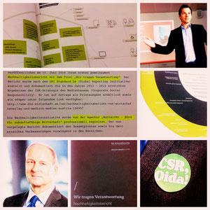 Nachhaltigkeitsbericht, ÖWV, MMA, Österreichischer Wirtschftsverlag, Medizin Medien Austria, Thomas Zembacher, Stefan Böck, CSR